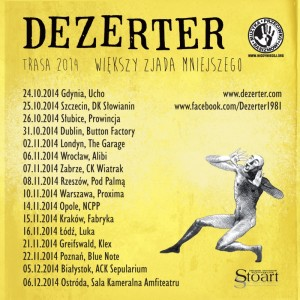 Dezerter_koncerty2014